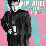 Original Cover Artwork of Kim Wilde You Keep Me Hanging On