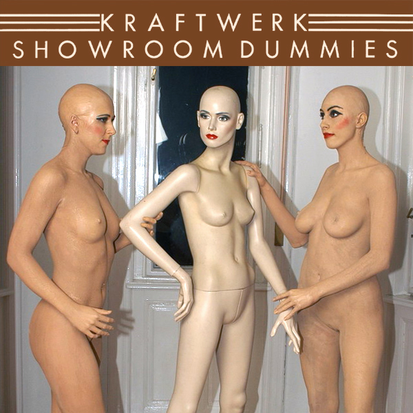 Cover Artwork Remix of Kraftwerk Showroom Dummies