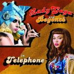 Original Cover Artwork of Lady Gaga Beyonce Telephone