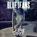 Original Cover Artwork of Lana Del Rey Blue Jeans