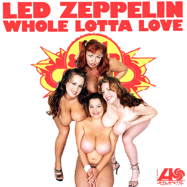 Cover Artwork Remix of Led Zeppelin Whole Lotta Love