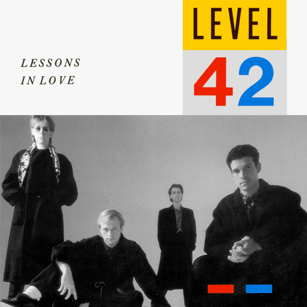 Original Cover Artwork of Level 42 Lessons In Love