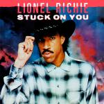Original Cover Artwork of Lionel Richie Stuck On You