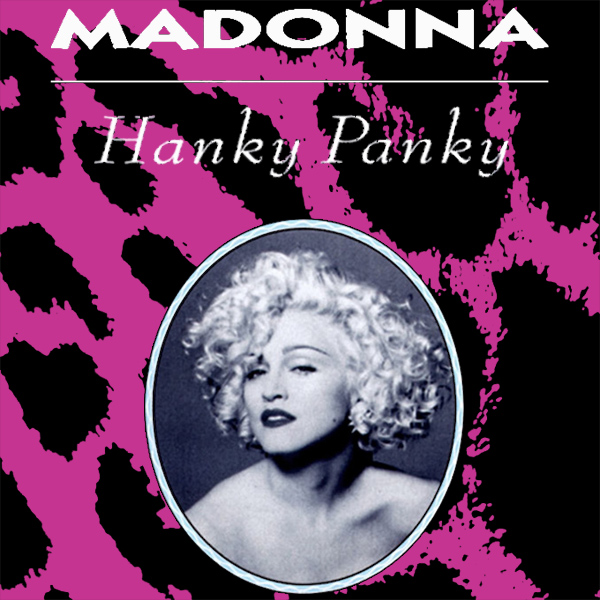 Original Cover Artwork of Madonna Hanky Panky
