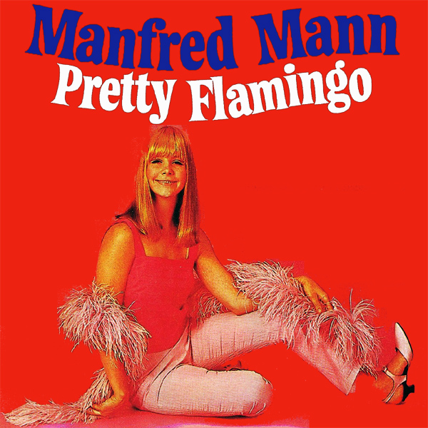 Original Cover Artwork of Manfred Mann Pretty Flamingo