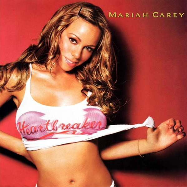 Original Cover Artwork of Mariah Carey Heartbreaker