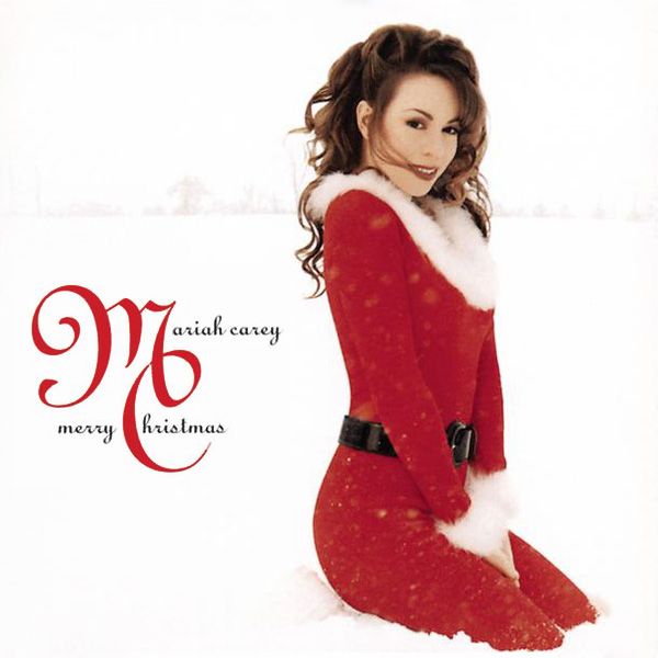 Original Cover Artwork of Mariah Carey Merry Christmas