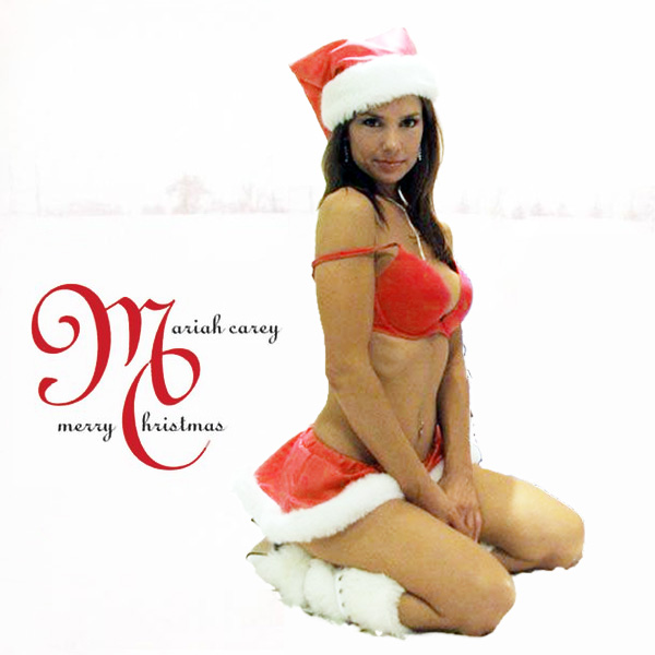 Cover Artwork Remix of Mariah Carey Merry Christmas