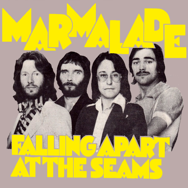 Original Cover Artwork of Marmalade Falling Apart At The Seams