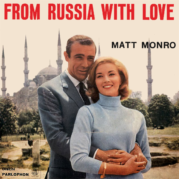 Original Cover Artwork of Matt Monro From Russia With Love