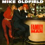 Original Cover Artwork of Mike Oldfield Family Man