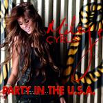 Original Cover Artwork of Miley Cyrus Party Usa