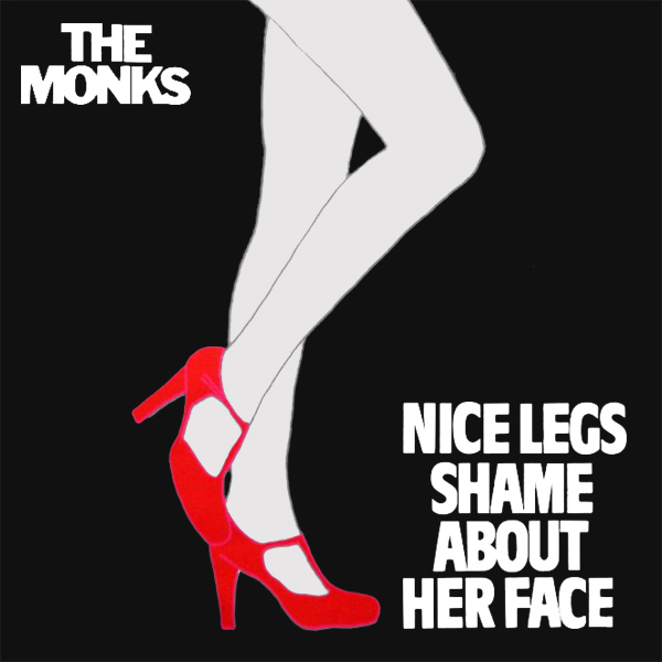 Original Cover Artwork of Monks Nice Legs Shame