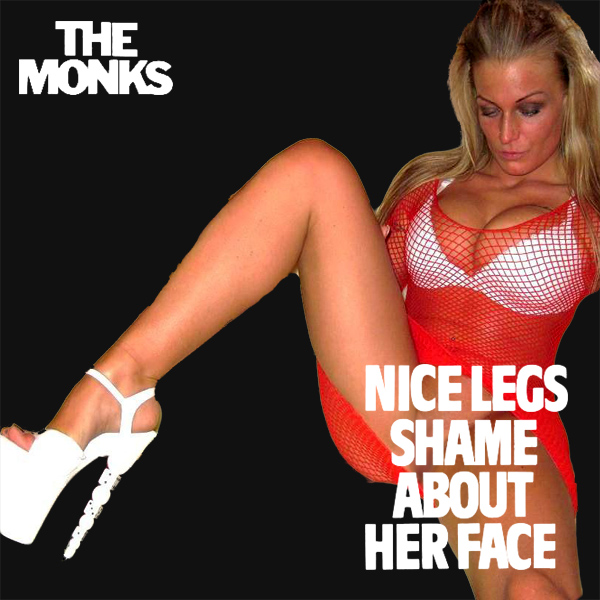Cover Artwork Remix of Monks Nice Legs Shame