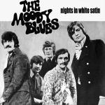 Original Cover Artwork of Moody Blues Nights In White Satin