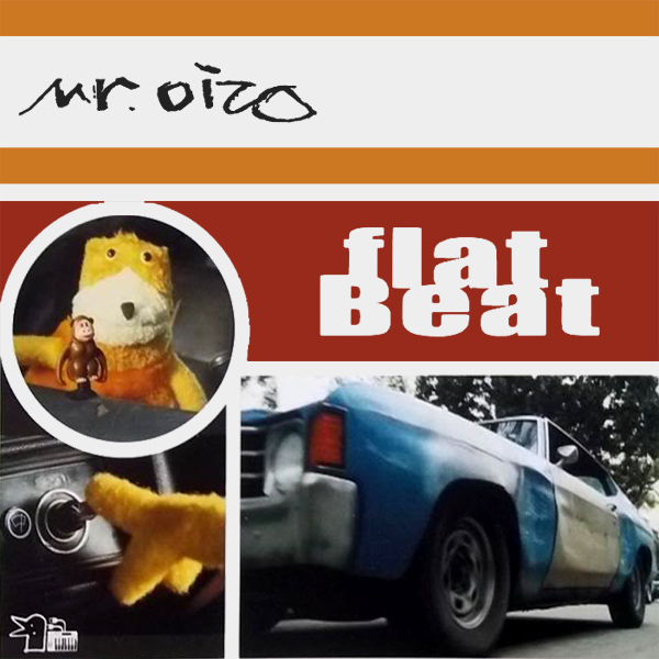 Original Cover Artwork of Mr Oizo Flat Beat