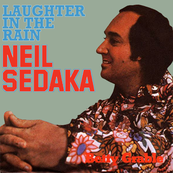Original Cover Artwork of Neil Sedaka Laughter In The Rain