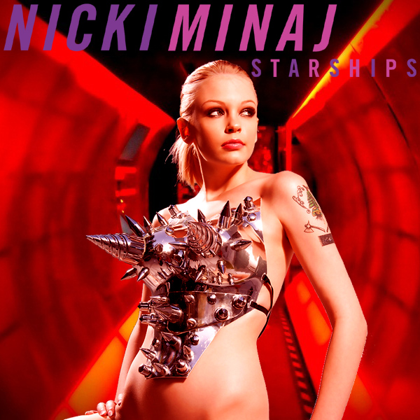 Cover Artwork Remix of Nicki Minaj Starships