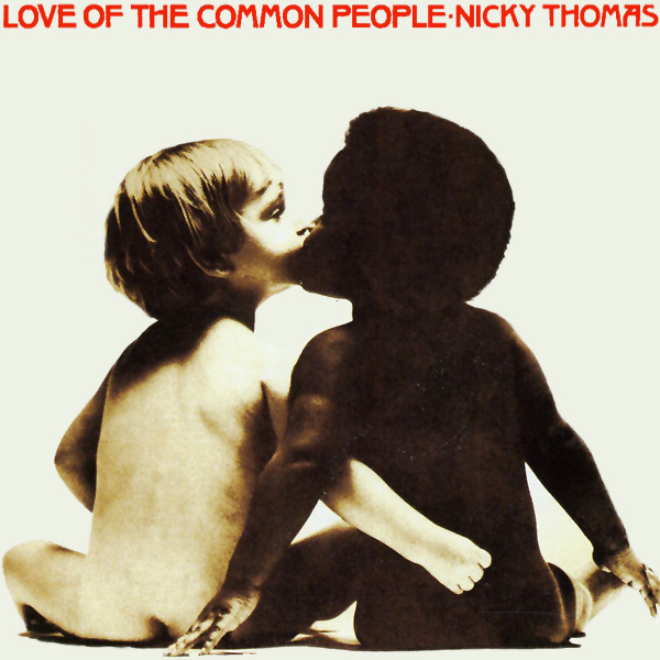 Original Cover Artwork of Nicky Thomas Love Common People