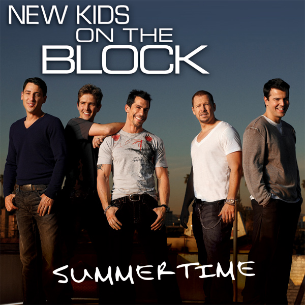 Original Cover Artwork of Nkotb Summertime