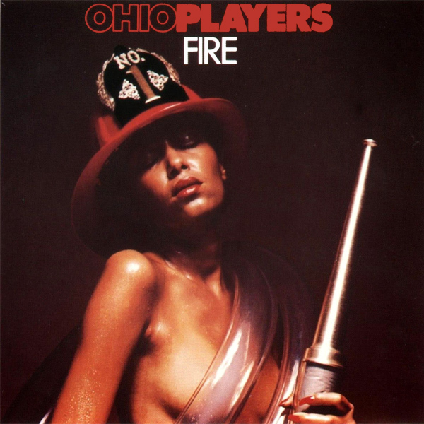 Original Cover Artwork of Ohio Players Fire