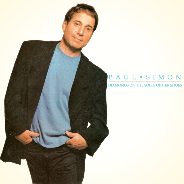 Original Cover Artwork of Paul Simon Diamond Shoes