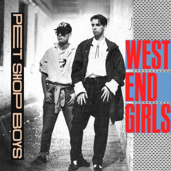 Original Cover Artwork of Pet Shop Boys West End Girls