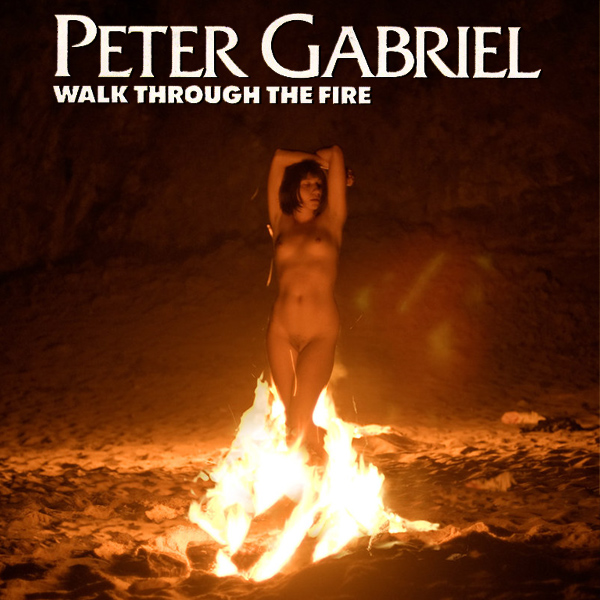 Cover Artwork Remix of Peter Gabriel Walk Through The Fire