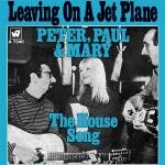 Original Cover Artwork of Peter Paul Mary Leaving On A Jet Plane