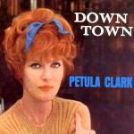 Original Cover Artwork of Petula Clark Down Town