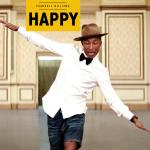 Original Cover Artwork of Pharrell Williams Happy