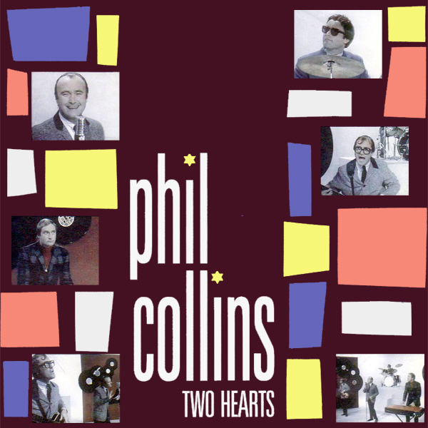 Original Cover Artwork of Phil Collins Two Hearts