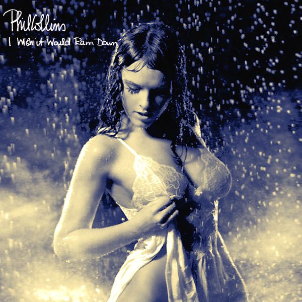 Cover Artwork Remix of Phil Collins Wish It Would Rain Down