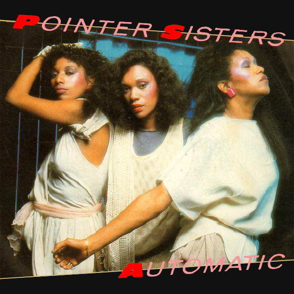Original Cover Artwork of Pointer Sisters Automatic