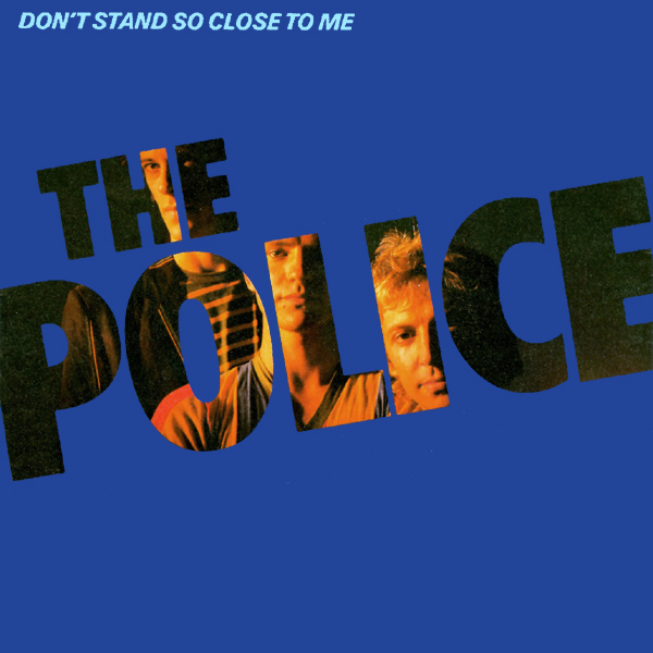 Original Cover Artwork of Police Dont Stand So Close