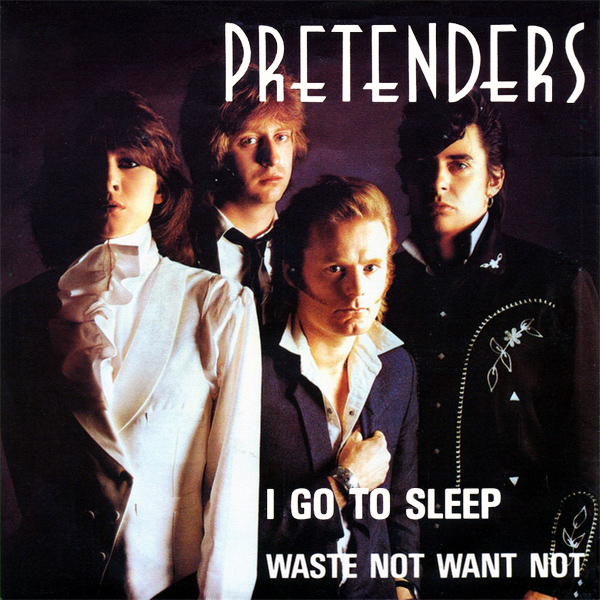 Original Cover Artwork of Pretenders I Go To Sleep