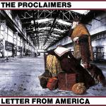 Original Cover Artwork of Proclaimers Letter From America