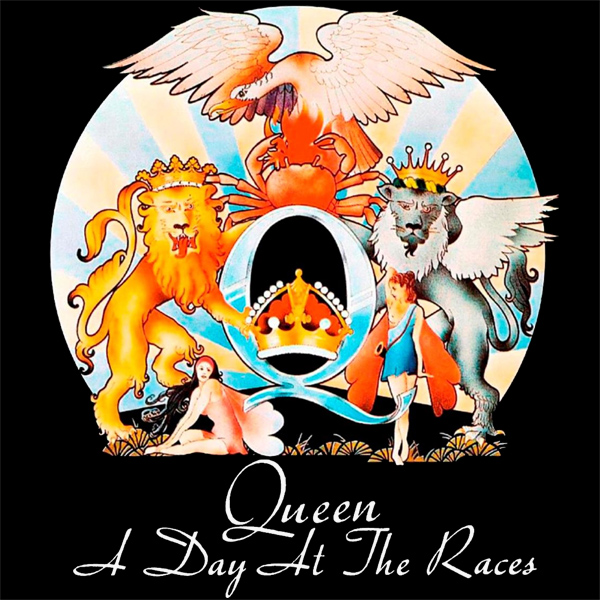 Original Cover Artwork of Queen A Day At The Races