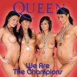 Cover Artwork Remix of Queen We Are The Champions