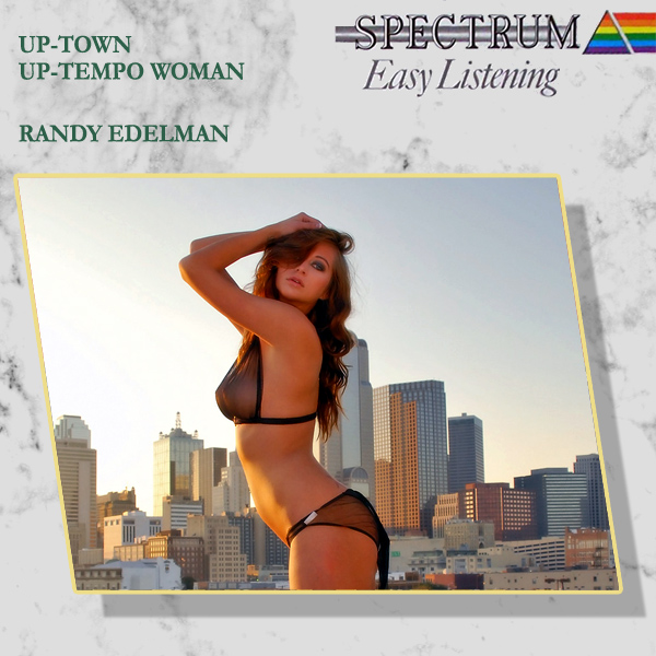Cover Artwork Remix of Randy Edelman Uptown Uptempo Woman