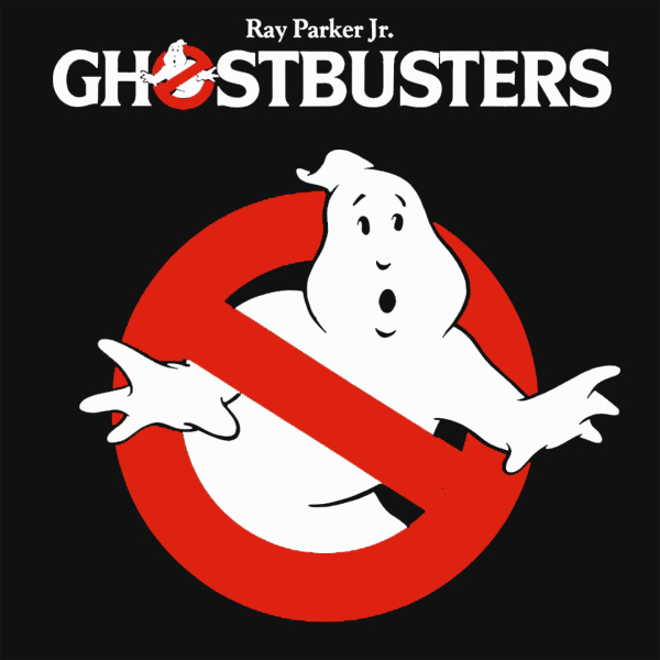 Original Cover Artwork of Ray Parker Jr Ghostbusters