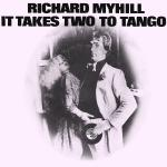 Original Cover Artwork of Richard Myhill It Takes Two To Tango