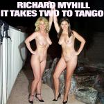Cover Artwork Remix of Richard Myhill It Takes Two To Tango
