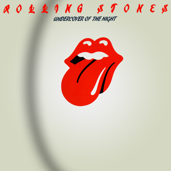 Original Cover Artwork of Rolling Stones Undercover Of The Night