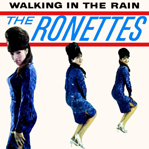 Original Cover Artwork of Ronettes Walking In The Rain
