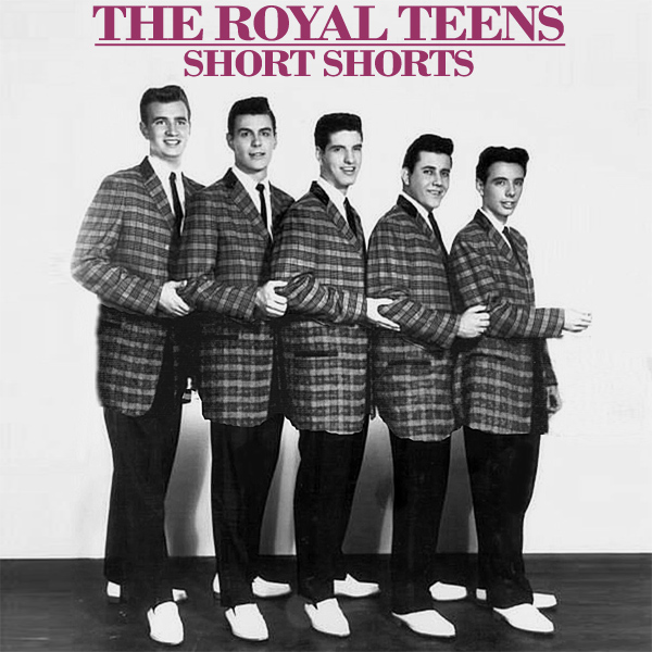 Original Cover Artwork of Royal Teens Short Shorts