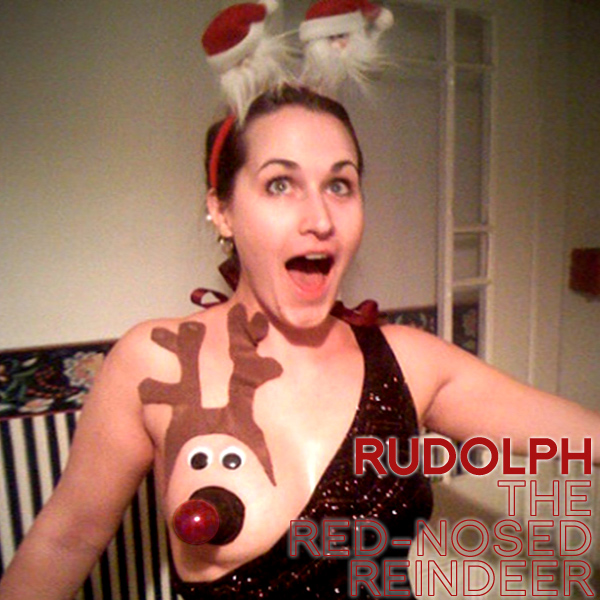Original Cover Artwork of Rudolph The Red Nosed Reindeer