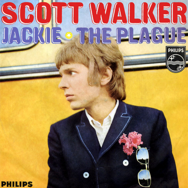 Original Cover Artwork of Scott Walker Jackie