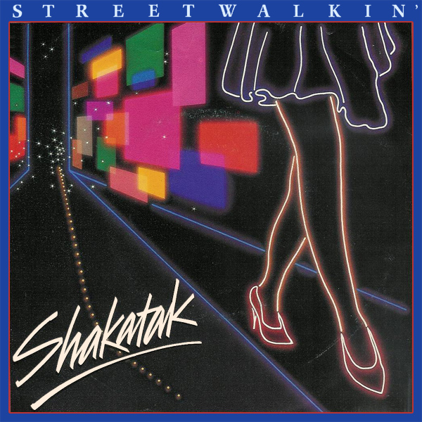 Original Cover Artwork of Shakatak Streetwalkin