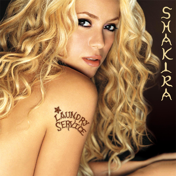Cover artwork for Laundry Service - Shakira